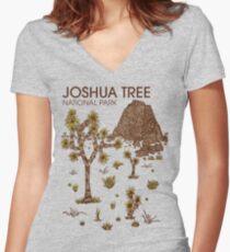 Joshua Tree National Park Fitted V-Neck T-Shirt