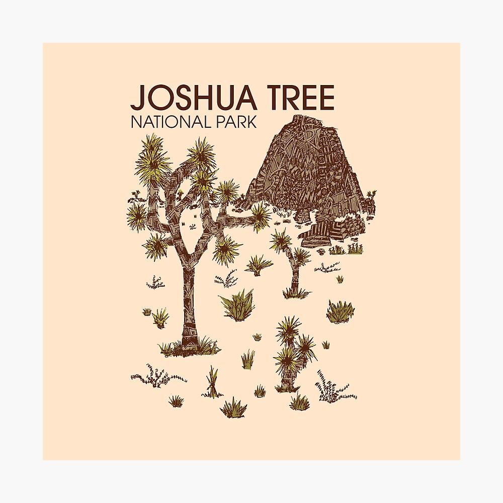 Joshua-Baum-Nationalpark Fotodruck