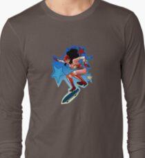 Wonderful Skateboard Pinup! Long Sleeve T-Shirt