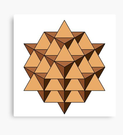 64 Tetrahedron 001 Canvas Print