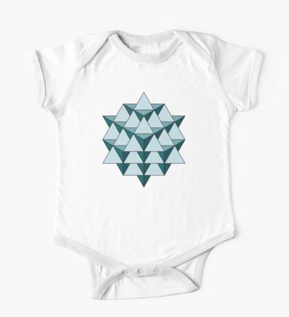 64 Tetrahedron - Cool Blues Kids Clothes