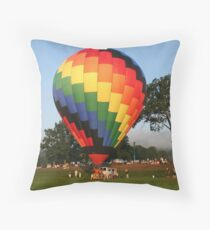 Launch Time!  Green River Music Festival Throw Pillow