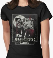 The Slaughtered Lamb  Women's Fitted T-Shirt