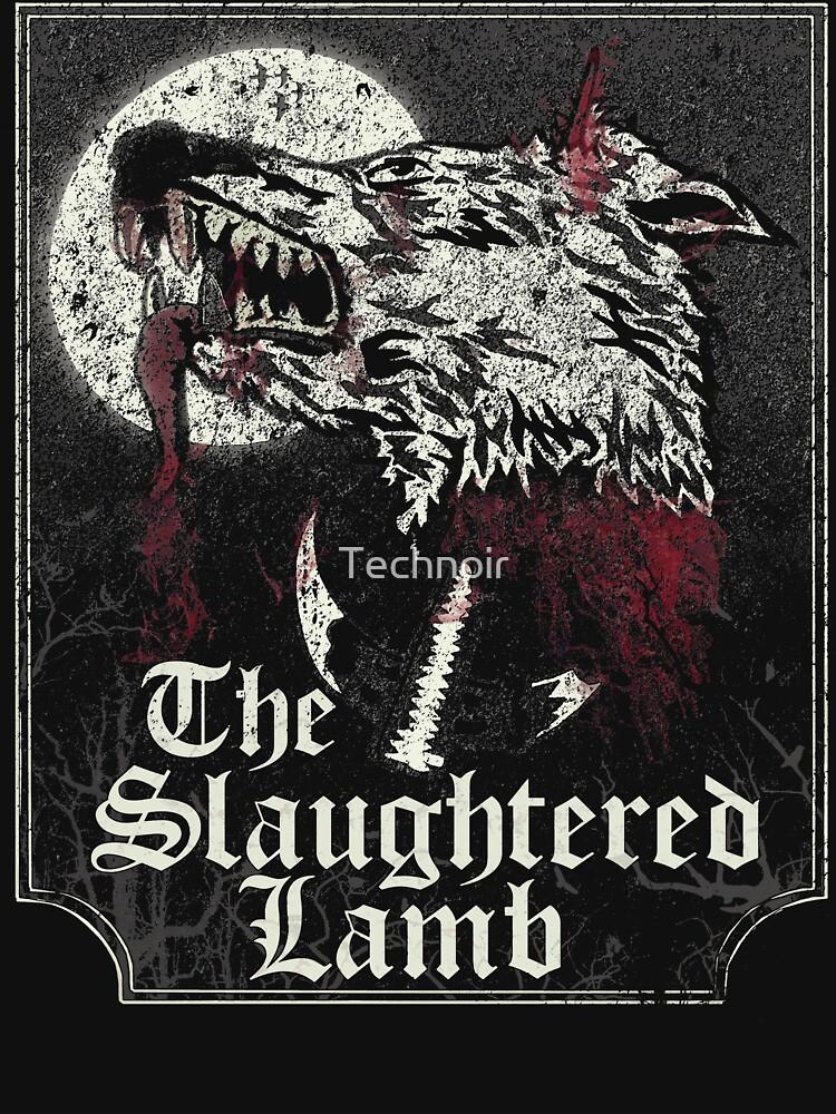 Das geschlachtete Lamm von Technoir