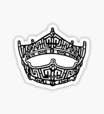 Miss America Crown Logo Sticker