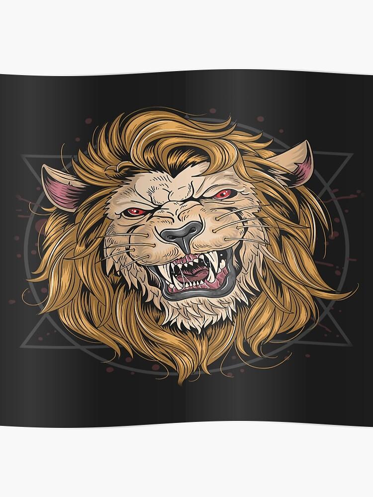 Fierce Lion | Poster