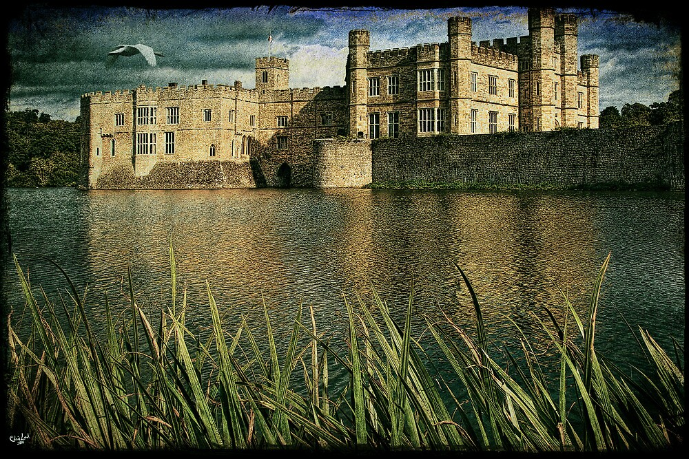 Leeds Castle Across the Moat by Chris Lord