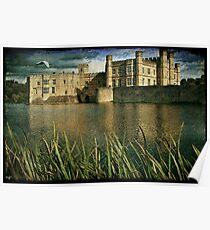 Leeds Castle Across the Moat Poster