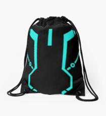 Blue Tronic Drawstring Bag