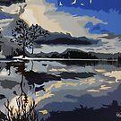 'Northern Night' by MattCollinsArt