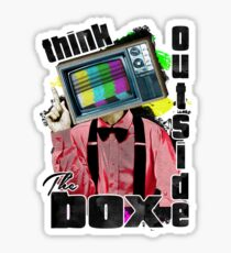 Think Outside The Box! Sticker
