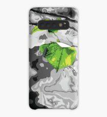 'Green Leaf' Case/Skin for Samsung Galaxy