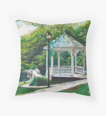 Salem Lake Spring Park Throw Pillow