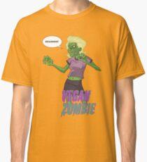 Lady Vegan Zombie Classic T-Shirt