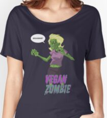 Lady Vegan Zombie Women's Relaxed Fit T-Shirt