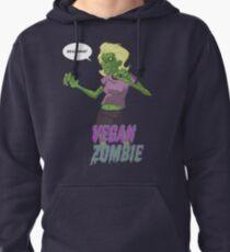 Lady Vegan Zombie Pullover Hoodie