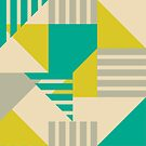 Geometric Abstract by latheandquill