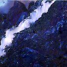 MIDNIGHT AT BLUE RIDGE MOUNTAINS by Sherri Palm Springs  Nicholas