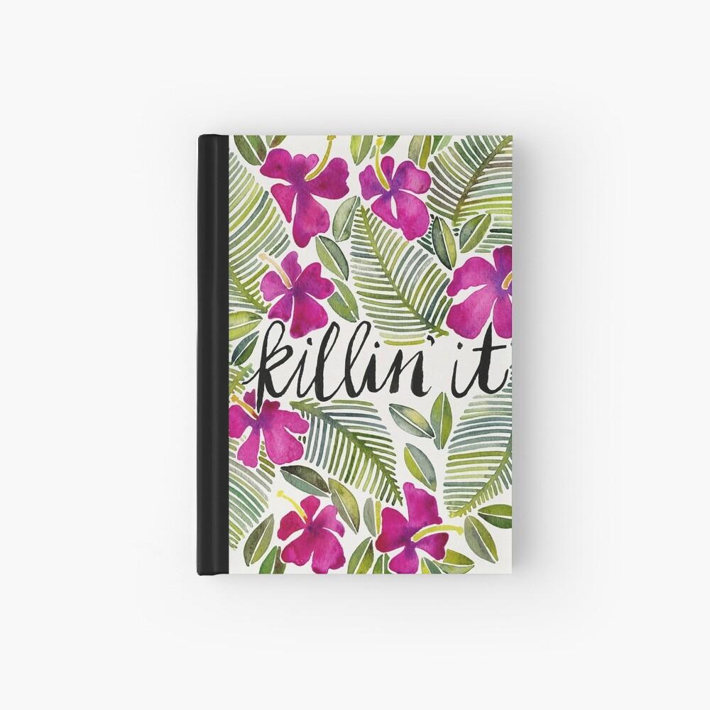 Killin 'es - tropisches Rosa Notizbuch