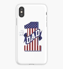 Number 1 Dad iPhone Case/Skin