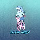 Shark Rider by marlowinc