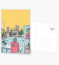 Neon Asia Postcards