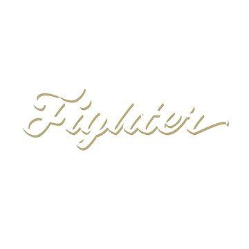 Fighter by emilymckelvey