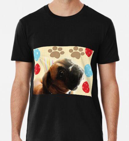 Schauen Sie, wer 1 - Boxer Dog Series ist Premium T-Shirt
