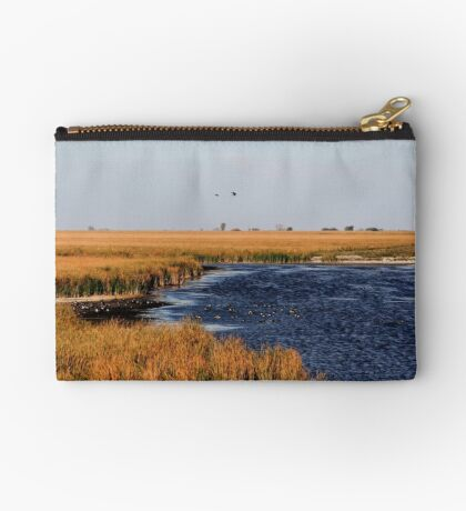 Autumnal Morning on the Marsh Studio Pouch