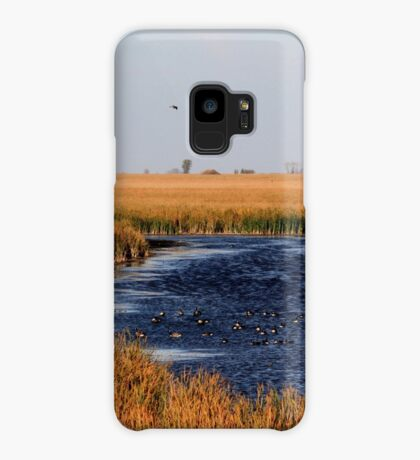 Autumnal Morning on the Marsh Case/Skin for Samsung Galaxy