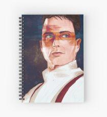 Captain Jack Harkness Spiral Notebook