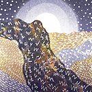 «Colinas malva y oro» de steveswade