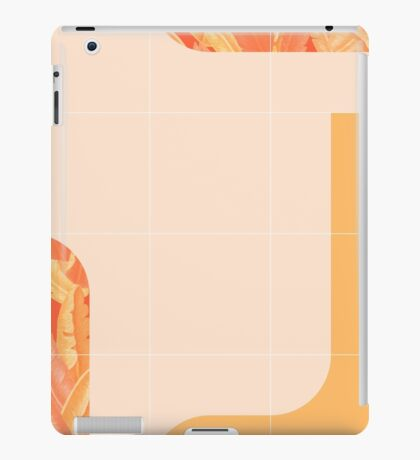 Mid-Century Tropical Orange Mood #redbubble #tropical iPad Case/Skin