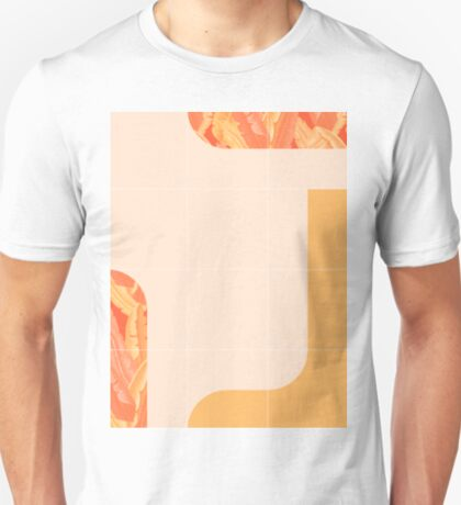 Mid-Century Tropical Orange Mood #redbubble #tropical T-Shirt