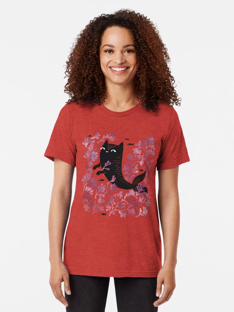 Alternative Ansicht von Unterseeisch Vintage T-Shirt