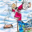 Scarecrow Dancing in the Wind by Seth  Weaver