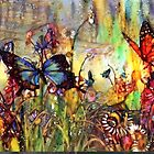 Butterfly Kisses and Poppy Prairies by Chanel70