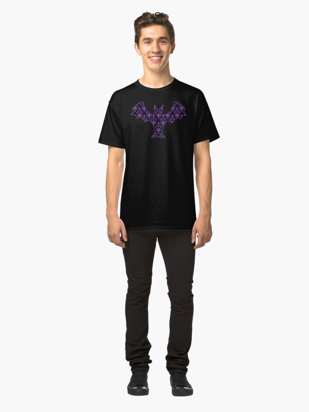 Vista alternativa de Camiseta clásica Fondo embrujado