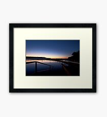 Lonely Sunrise Framed Print