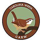 Carolina Wren by JadaFitch