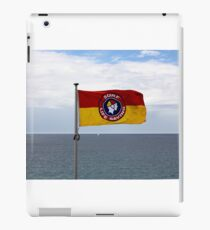 Stay between the flags iPad Case/Skin