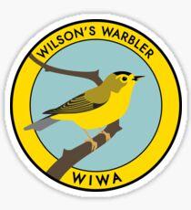 Wilson's Warbler Sticker