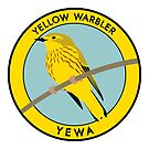 Yellow Warbler by JadaFitch