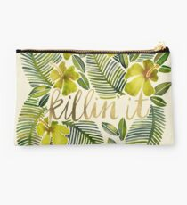 Killin' It – Tropical Yellow Studio Pouch