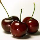 Bunch of cherries by aarthir