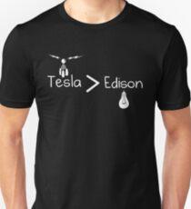 Tesla > Edison Unisex T-Shirt