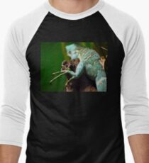 Reptile  Men's Baseball ¾ T-Shirt