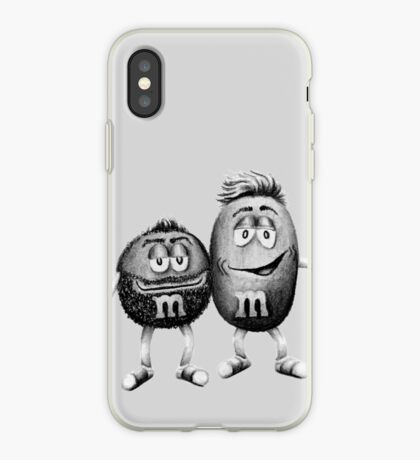Bearded M&Ms iPhone Case