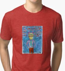 In The Red Planet Tri-blend T-Shirt
