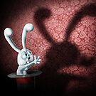 Bunny Shadow Puppet by Kieran Madden